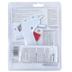 AdTech, Mini Glue Gun Pack, High Temperature, 10 Watts, White, 4.25 x 4.38 Inches