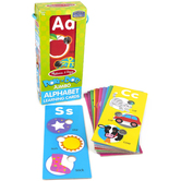 Melissa & Doug, Poke-a-Dot Alphabet Learning Cards, 13 Cards, Ages 1 to 6