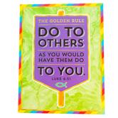 Carson-Dellosa, The Golden Rule Motivational Chart, 17 x 22 Inches, Multi-Colored, 1 Piece