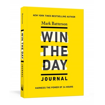 Pre-buy, Win the Day Journal: Harness the Power of 24 Hours, by Mark Batterson, Paperback