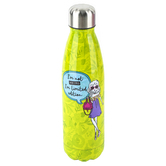 Brother Sister Design Studio, Green Limited Edition Girly Water Bottle, 10.38 x 2.50, 17.25 Ounces
