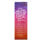 Salt & Light, Jeremiah 29:11 For I Know Bookmarks, 2 x 6 inches, 25 Bookmarks