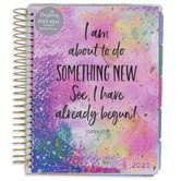 DaySpring, Isaiah 43:19 Something New 18-Month 2021 Agenda Planner, Pink, 8 x 9 Inches
