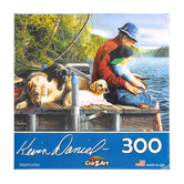 Cra-Z-Art, Kevin Daniel's Fishing Memories Puzzle, 300 Pieces, 18 x 24 inches