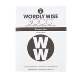 Wordly Wise 3000 4th Edition Answer Key Book 8, Paperback, Grade 8