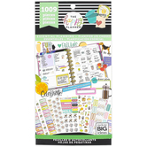 MAMBI, The Happy Planner®, Essential Planning Classic Value Sticker Pack, 1009 stickers