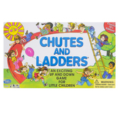 Winning Moves Games, Chutes and Ladders Board Game, Ages 4 and Older, 2 to 4 Players
