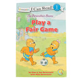 The Berenstain Bears Play A Fair Game, I Can Read, Level 1, by Stan, Jan, and Mike Berenstain