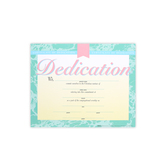 Broadman Church Supplies, Dedication Certificates, 8 1/2 x 11 inches, Set of 6