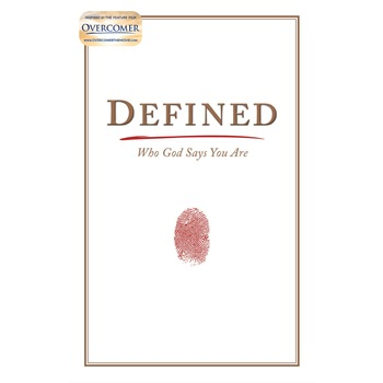 Defined: Who God Says You Are, by Stephen Kendrick and Alex Kendrick, Hardcover