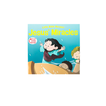 Little Bible Heroes, Jesus' Miracles and Martha, Flip-Over Book, Victoria Kovacs, Paperback
