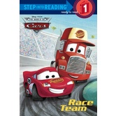 Disney's Cars, Race Team, Step Into Reading, Level 1, by Dennis R. Shealy, Paperback