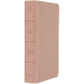 CSB On-The-Go Bible, Personal Size, Imitation Leather, Rose Gold