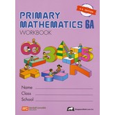 Singapore Math, Primary Math Workbook 6A, U.S. Edition, Paperback, 96 Pages, Grades 6-7