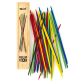 Toysmith, Pick Up Sticks, Wood with Storage Box, 10.50 x 2 x 1.25 Inches, Ages 5 and up, 1 Each