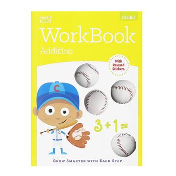 Retail Centric Marketing, Step Up Kids Addition Workbook, Paperback, Grade 1