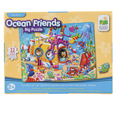 The Learning Journey, My First Big Floor Puzzle Ocean Friends, 12 Pieces, 24 x 18 inches