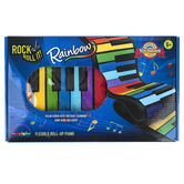 Mukikim, Rock and Roll It Rainbow Piano, 31 x 6 x 1.25 Inches, 4 Pieces, Grades 1  and up