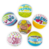 Playside Creations, Faith Mini Beach Balls, 6-Assorted Designs, 5-Inch Diameter, 6 Count