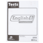 BJU Press, English 6 Test Packet, 2nd Edition, Paper, Grade 5
