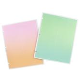 Carolina Pad, The Sherbert Notes Collection, Portfolio 2 Pocket Folder, 11 3/4 x 9 1/2 inches