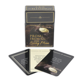 Christian Art Gifts, Promises from God for Every Man-Box of Blessings, 3 3/8 x 2 1/4 Inches