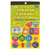 Eureka, Spanish Sticker Book, 5.75 x 9.5 Inches, Multi-Colored, Book of 536