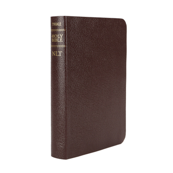 NLT Compact Bible, Bonded Leather, Burgundy
