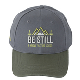 Kerusso, Be Still and Know Cap, Grey, One Size