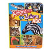 Alligator to Zebra ABC's: Learn Your ABCs with Animals, by Flying Frog, Board Book