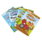 Preschool Prep Company, Basics 4 DVD Pack, English and Spanish, Ages 9 Months to 5 Years