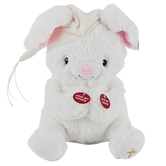 Cuddle Barn, Paws for Prayer Bunny Plush Toy, White, 10 inches, Ages 18 months and up