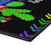 Flagship Carpets, Reading Makes You Sharp Cactus Rug, Black and Multi-Colored, 2 Feet x 3 Feet