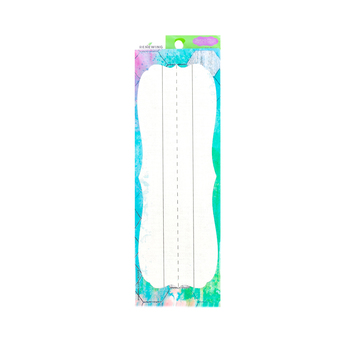 Retro Chic Collection, Nameplates, 9.25 x 2.5 Inches, Multi-Colored, 36 Count