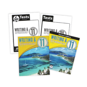 BJU Press, Writing and Grammar 11 Complete Subject Kit, 3rd Edition, Grade 11