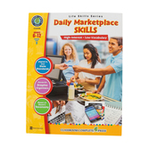 Life Skills Series, Daily Marketplace Skills, Grades 6-12, Paperback, 60 Pages