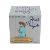 Dicksons, Nurse's Prayer Sculpture, Resin 5 1/2 x 4 3/8 inches