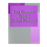 Easy Grammar Grade 6 Student Workbook