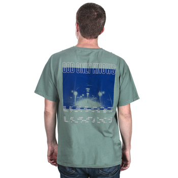 for KING & COUNTRY, God Only Knows, Men's Short Sleeved T-Shirt, Jade, S-2XL