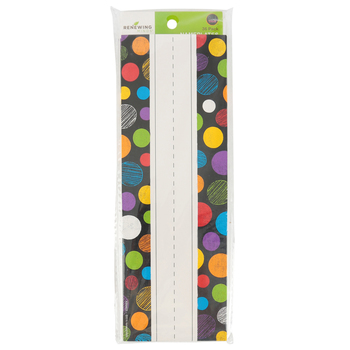 Chalk Talk Collection, Nameplates, 9.25 x 2.5 Inches, Multi-Colored Dots, 36 Count