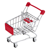 Bright Ideas, Mini Metal Shopping Cart, Multiple Colors Available, 4 1/4 x 3 1/4 x 4 1/2 inches