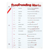 Renewing Minds, Classroom Proofreading Marks Chart, 17 x 22 Inches, Multi-Colored, 1 Each