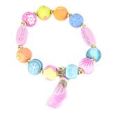 Jilzarah, Granddaughter Girls Youth Tassel Bracelet, 6 to 6 1/4 inches
