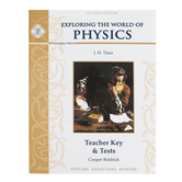 Memoria Press, Exploring The World of Physics Teacher Key & Tests, Paperback, Grades 7-9