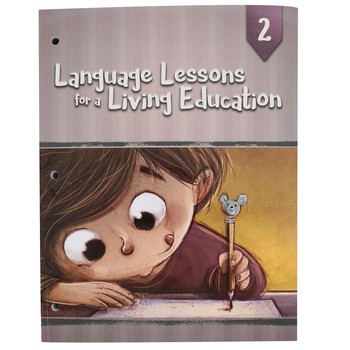 Master Books, Language Lessons for a Living Education 2, Paperback, Grade 2