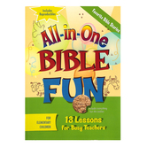 All-in-One Bible Fun for Elementary Children: Favorite Bible Stories Activity Book, Ages 6-10