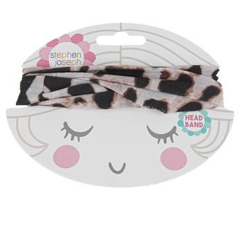 Stephen Joseph, Leopard Print Headband, One Size Fits Most Toddlers