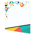 Colorfetti Collection, Rectangle Notepad, 6.25 x 8 Inches, Retro 90s Colors, 50 Sheets