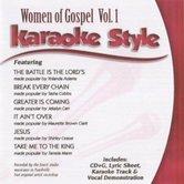 Women of Gospel Volume 1, Karaoke Style, As Made Popular by Various Artists, CD+G