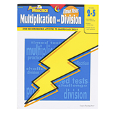 Creative Teaching Press, Power Practice Math Timed Tests Multiplication and Division, Grades 2-5